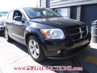 Used 2010 Dodge CALIBER SXT 4D HATCHBACK for sale in Calgary, AB