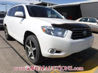 Used 2010 Toyota HIGHLANDER SPORT 4D UTILITY V6 AWD for sale in Calgary, AB