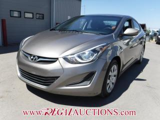 Used 2014 Hyundai ELANTRA GL 4D SEDAN AT 1.8L for sale in Calgary, AB