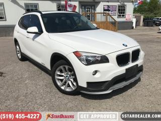 Used 2015 BMW X1 xDrive28i | LEATHER | ROOF | HEATED SEATS for sale in London, ON