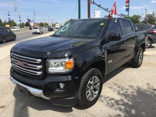 Used 2017 GMC CANYON ALL TERRAIN * AWD * LEATHER/CLOTH * NAV * REAR CAM * LOW KM for sale in London, ON