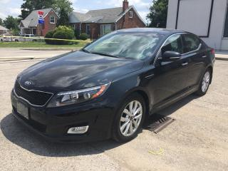 Used 2015 Kia OPTIMA EX * LEATHER * NAV * REAR CAM * HEATED SEATS * PANO ROOF * LOW KM for sale in London, ON