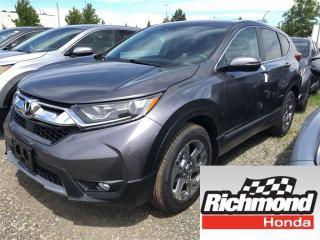 New 2018 Honda CR-V EX for sale in Richmond, BC