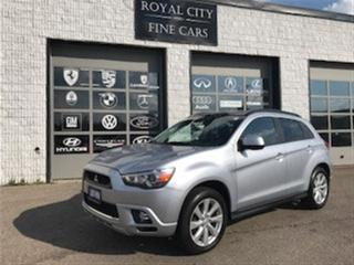 Used 2012 Mitsubishi RVR GT (S-CVT) AWD Panoramic Roof Subwoofer for sale in Guelph, ON