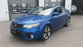 Used 2012 Kia Forte SX Luxury 6-Speed Heated Seats Sunroof for sale in Guelph, ON