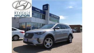 Used 2017 Hyundai Santa Fe XL Limited - panoramic sun roof for sale in Toronto, ON
