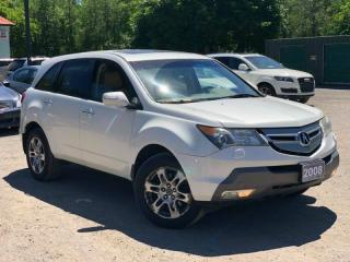 Used 2008 Acura MDX SH AWD Leather Sunroof Bluetooth 7-Passenger for sale in Newmarket, ON