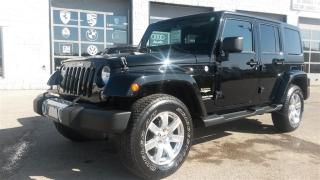 Used 2014 Jeep SAHARA NAVIGATION TWO TOPS Unlimited Sahara for sale in Guelph, ON