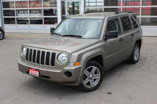 Used 2008 Jeep Patriot Sport | 4WD | AUTOMATIC | POWER WINDOWS | ALARM | EVERYONE GETS FINANCED! for sale in Hamilton, ON