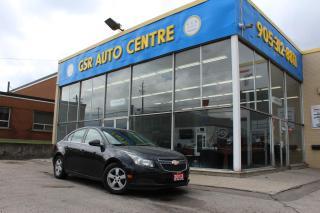 Used 2013 Chevrolet Cruze 1LT | MANUAL | POWER WINDOWS | XM RADIO | EVERYONE GETS FINANCED! for sale in Hamilton, ON