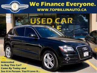 Used 2015 Audi Q5 2.0T S-Line, Navi, Pano Roof, Power Tailgate for sale in Concord, ON
