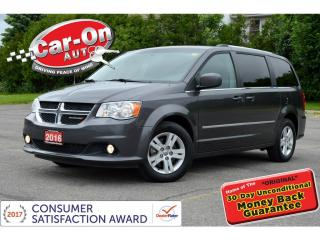 Used 2016 Dodge Grand Caravan Crew for sale in Ottawa, ON