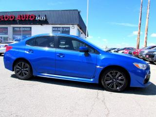 Used 2016 Subaru Impreza WRX WRX AWD 6SPD MANUAL CAMERA BLUETOOTH CERTIFIED for sale in Milton, ON