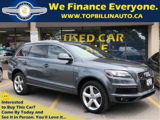 Used 2013 Audi Q7 TDI S-Line Premium, 7 Pass, Navi & more for sale in Concord, ON