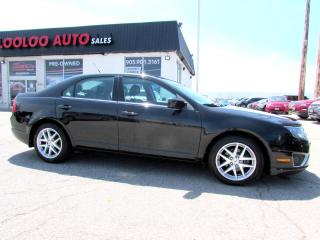 Used 2011 Ford Fusion SEL LEATHER SUNROOF CERTIFIED 2YR WARRANTY for sale in Milton, ON