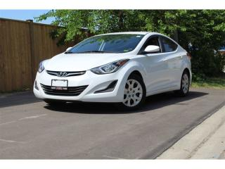 Used 2016 Hyundai Elantra L*Extremly Clean*Heated Seats*Bluetooth*Deep Tints for sale in Mississauga, ON