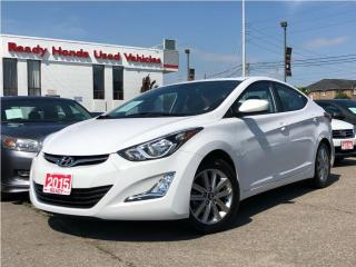 Used 2015 Hyundai Elantra Sport Appearance - Sunroof - Alloys for sale in Mississauga, ON