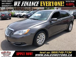 Used 2014 Chrysler 200 LX|BLUETOOTH| ONLY 51, 000KM!| CERTIFIED for sale in Hamilton, ON