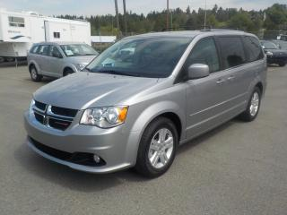 Used 2017 Dodge Grand Caravan Crew Stow N' Go for sale in Burnaby, BC