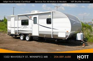 Used 2013 Crossroads RV Z-1 ZT251BH 28ft 9-person Sleeping for sale in Winnipeg, MB