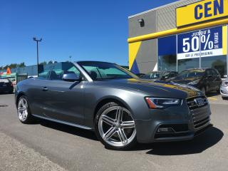 Used 2013 Audi S5 CONVERTIBLE QUATTRO for sale in Levis, QC