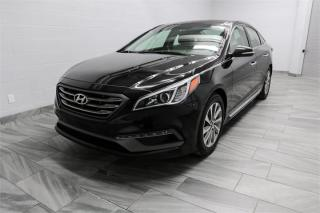 Used 2015 Hyundai Sonata SPORT-PANORAMIC ROOF-CAMERA-ONLY 88KM for sale in York, ON