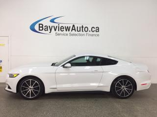 Used 2017 Ford Mustang EcoBoost - REM START! ALLOYS! REVERSE CAM! SYNC! for sale in Belleville, ON