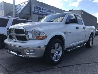 Used 2009 Dodge Ram 1500 SLT/Sport QUAD CAB|POWER SEATS|ALLOYS|CERTIFIED for sale in Concord, ON