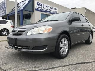 Used 2007 Toyota Corolla ACCIDENT FREE|ALLOYS|CERTIFIED for sale in Concord, ON