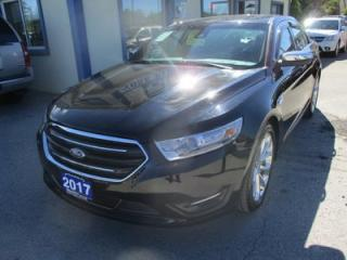Used 2017 Ford Taurus LOADED LIMITED EDITION 5 PASSENGER 3.5L - V6.. AWD.. LEATHER.. HEATED/AC SEATS.. NAVIGATION.. SUNROOF.. BACK-UP CAMERA.. BLUETOOTH.. for sale in Bradford, ON