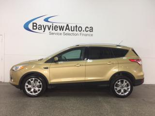 Used 2014 Ford Escape Titanium - ECOBOOST! KEYPAD! HTD LTHR! SYNC! PWR LIFTGATE! for sale in Belleville, ON