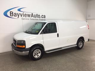 Used 2016 GMC Savana 2500 1WT - 4.8L! A/C! CRUISE! LOW KM! PWR GROUP! for sale in Belleville, ON