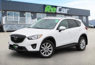 Used 2014 Mazda CX-5 GT AWD | HEATED LEATHER | NAV | BACK UP CAM for sale in Fredericton, NB