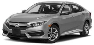 New 2018 Honda Civic Sedan LX CVT for sale in Scarborough, ON