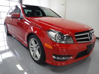 Used 2014 Mercedes-Benz C-Class NAVI,PANO ROOF,FULLY LOADED,MINT,LOW KM for sale in North York, ON