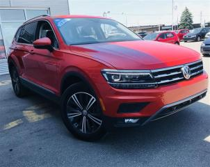 Used 2018 Volkswagen Tiguan Highline 2.0t 8sp At for sale in Gatineau, QC