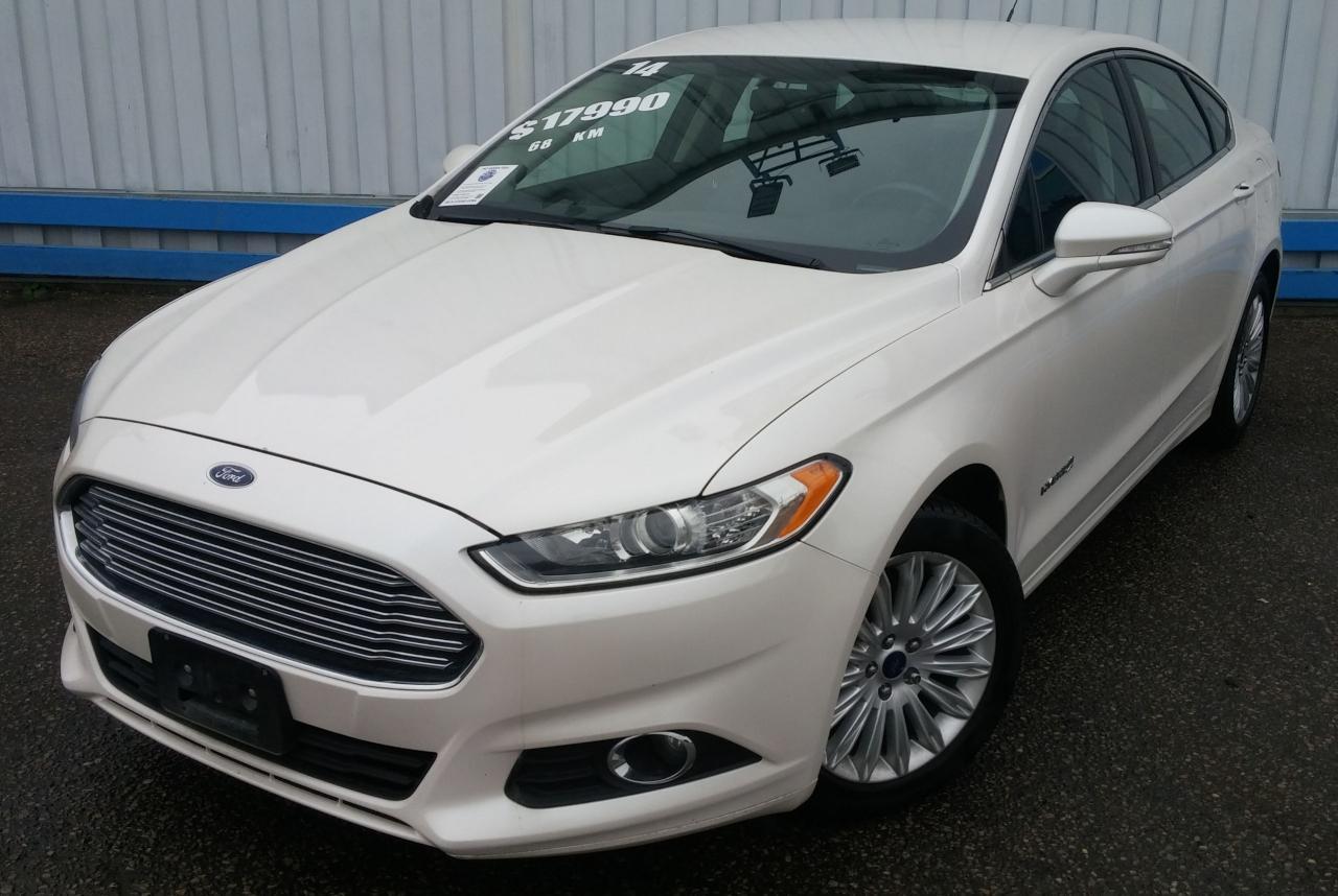 2014 Ford Fusion SE HYBRID *LEATHER-NAVIGATION*