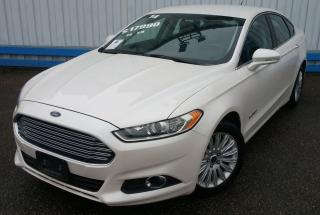 Used 2014 Ford Fusion SE HYBRID *LEATHER-NAVIGATION* for sale in Kitchener, ON