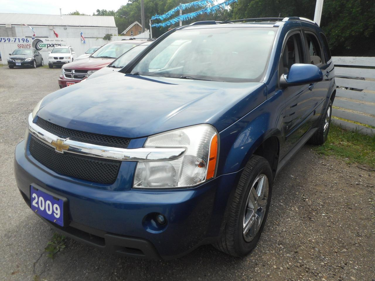 used 2009 chevrolet equinox certified w 6 month warranty for sale in brantford ontario. Black Bedroom Furniture Sets. Home Design Ideas
