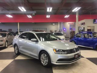 Used 2015 Volkswagen Jetta 2.0L TRENDLINE+ 5SPEED SUNROOF BACKUP CAMERA 39K for sale in North York, ON