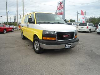 Used 2010 GMC Savana 2500 CARGO 2500 LOW KM SAFETY A/C PW PL NO ACCIDENT for sale in Oakville, ON