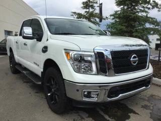 Used 2017 Nissan Titan SL, NAVI, HEATED LEATHER, 4WD for sale in Edmonton, AB