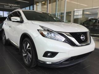 Used 2016 Nissan Murano PLATINUM, NAVI, AWD, ACCIDENT FREE for sale in Edmonton, AB