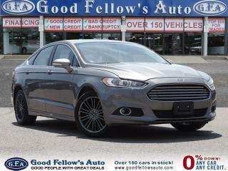 Used 2014 Ford Fusion SE MODEL, LEATHER SEATS, RERVIEW CAMERA, 2.0 LITER for sale in North York, ON