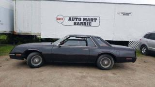 Used 1982 Chrysler 300 C Cordoba for sale in Barrie, ON