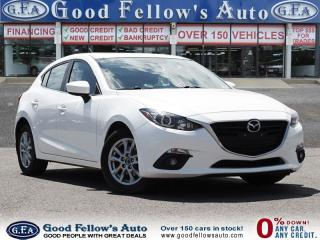 Used 2014 Mazda MAZDA3 SPORT GS MODEL, SKYACTIVE, SUNROOF, NAVIGATION for sale in North York, ON