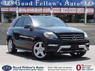 Used 2014 Mercedes-Benz ML 350 DIESEL, POWER LIFT GATE, LEATHER SEATS, PANROOF for sale in North York, ON