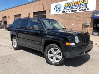 Used 2014 Jeep Patriot NORTH - 4X4 - BLUETOOTH - ALLOYS - ONLY 69K for sale in Aurora, ON