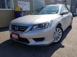 Used 2014 Honda Accord LX-BLUETOOTH-BACK UP CAMERA-PWR SEAT for sale in Tilbury, ON