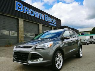 Used 2014 Ford Escape Titanium, LOCAL, ACCIDENT FREE, for sale in Surrey, BC
